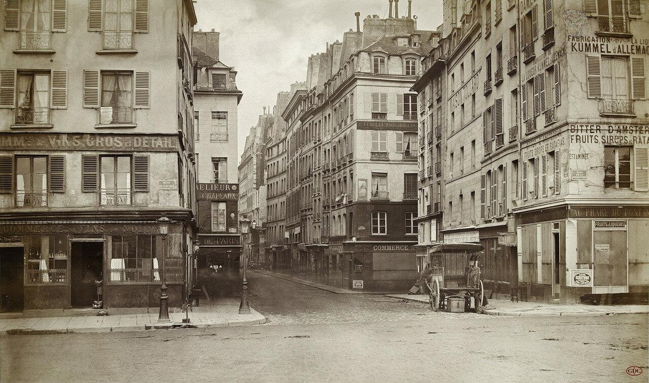 Площадь Трех Марий. 1866