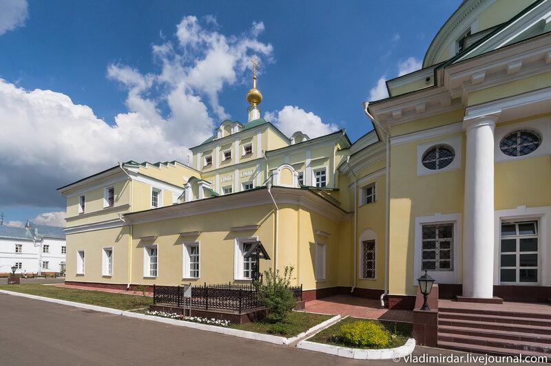Свято-Екатерининский монастырь. Собор великомученицы Екатерины.