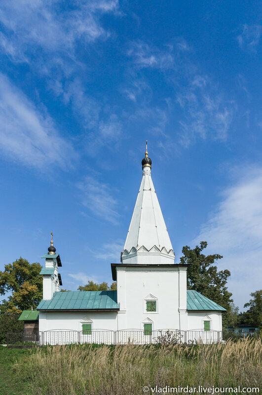 Церковь Николая Чудотворца в Петровском
