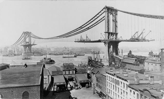 The Manhattan Bridge under construction in 19011280.jpg