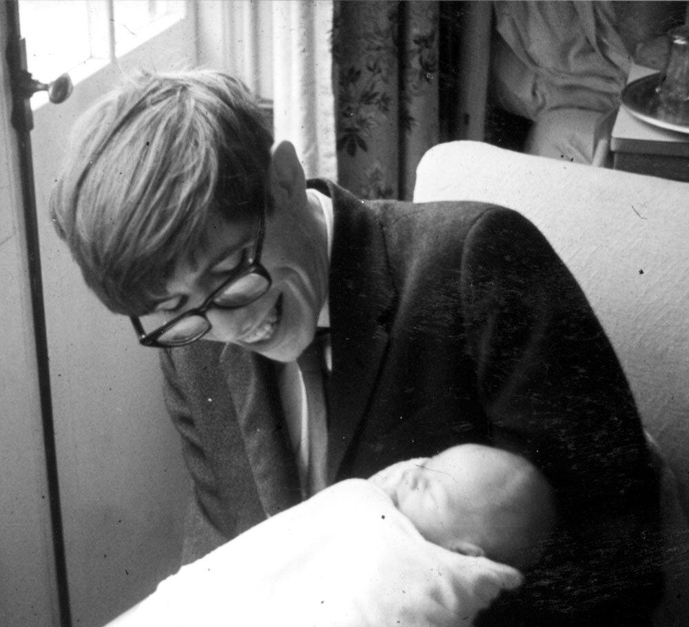 5. Stephen with Robert 1967.jpg