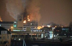В центре Грозного идут ожесточенные бои – введен режим КТО