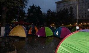 В Молдове продолжаются протесты - Нашей партии и социалистов