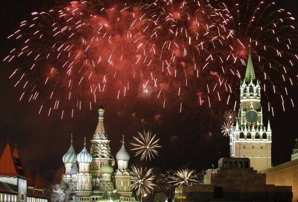 MOSCOW WELCOMES IN 2016