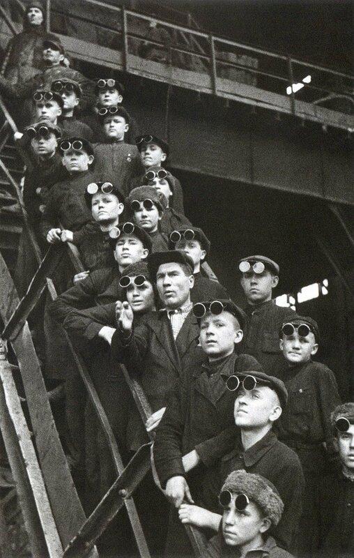 Будущие сталевары. Днепродзержинск. 1950 г.jpg