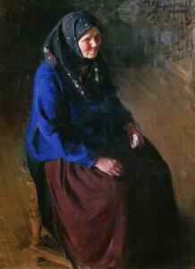 Портрет моей матери