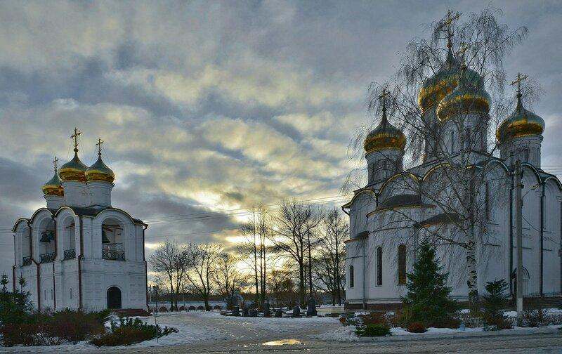 Зимний вечер в Переславле-Залесском