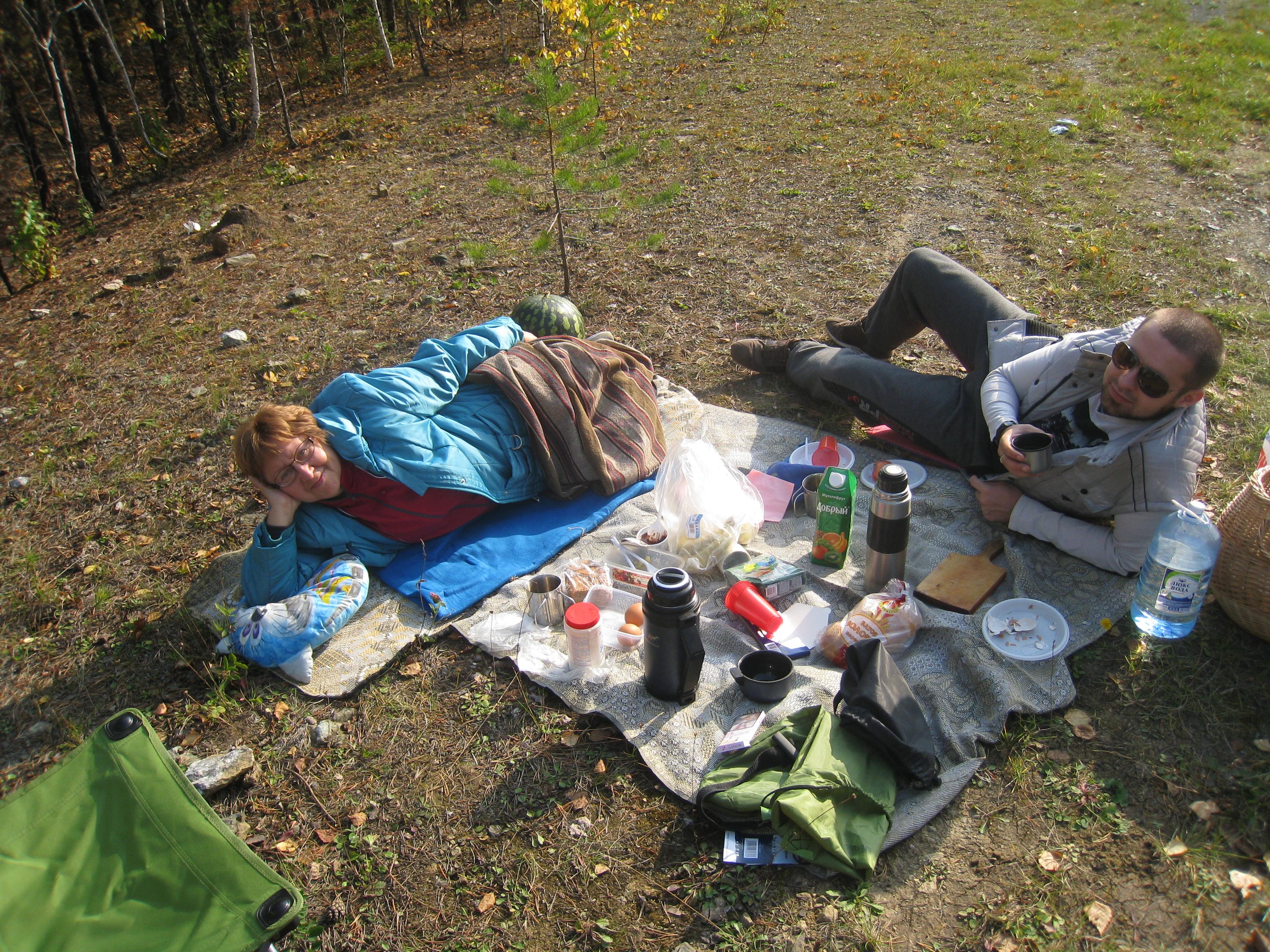 Пикник наЧеремшанском карьере