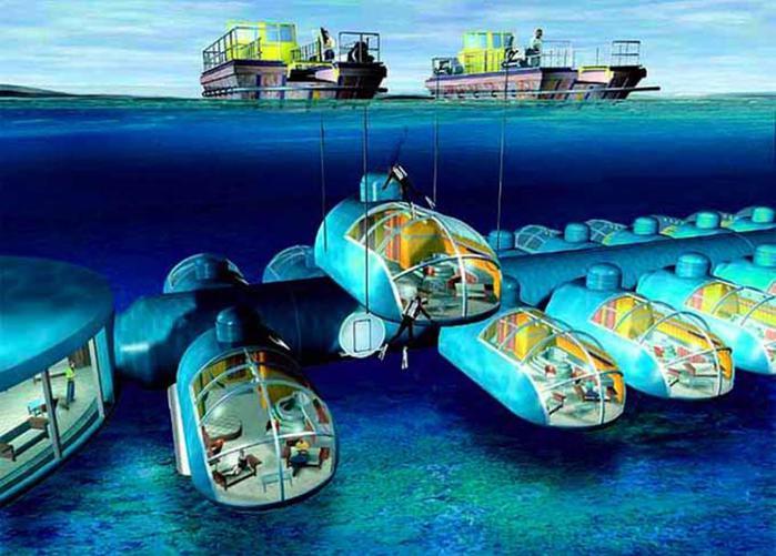 Фиджи. Открытие гостиницы на дне океана (фото)