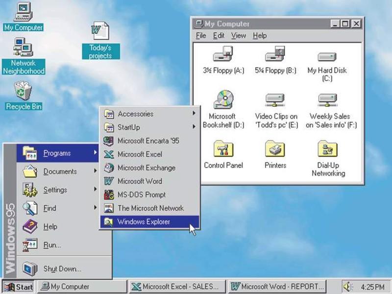 Не совсем понятно почему, но настоящий успех ждал Microsoft 24 августа 1995 года, когда появилась Wi