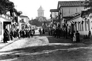 Центральная улица. Андреевский военный собор