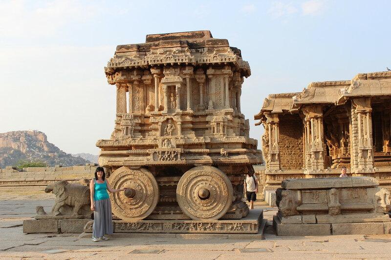 Хампи - храм Виттала - Колесница