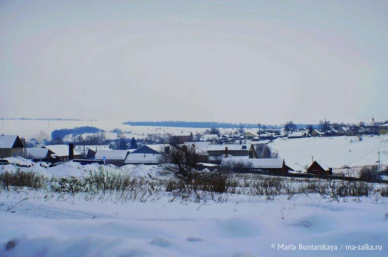 Просторы Базарного Карабулака, Саратовская область, 08 февраля 2015 года