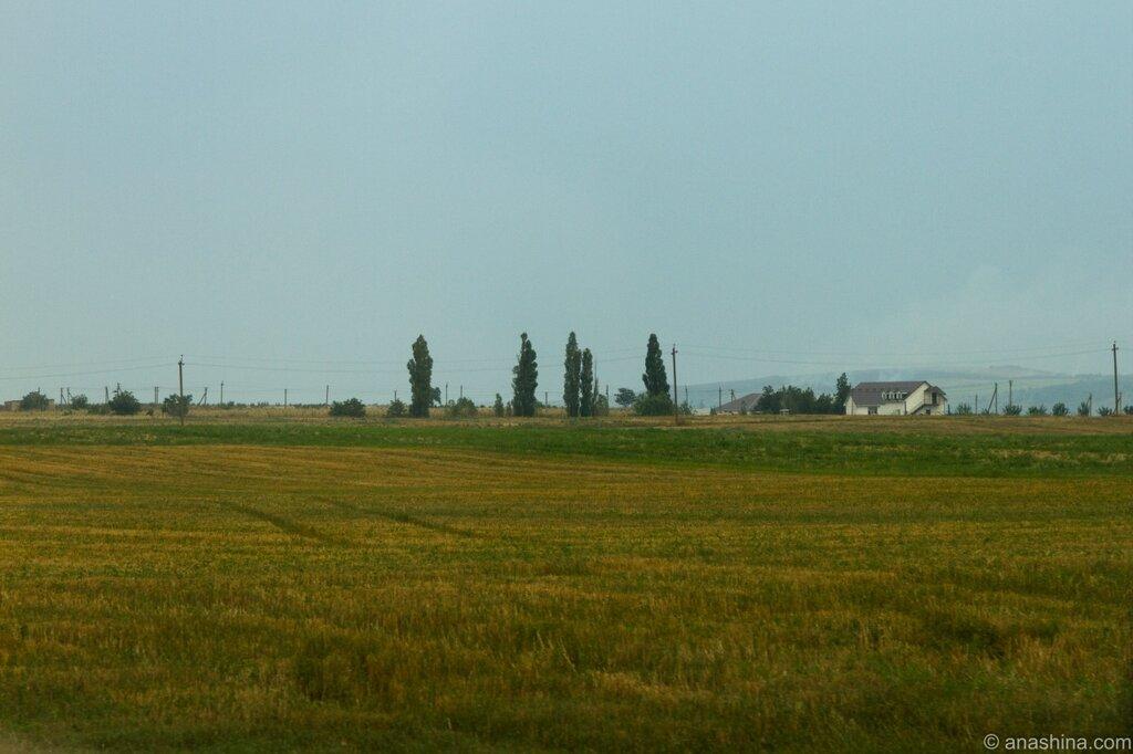 Пейзаж в окрестностях Темрюка