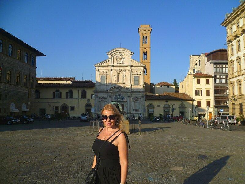 Италия, Флоренция - церковь Всех Святых (Italy, Florence - Church of All Saints)