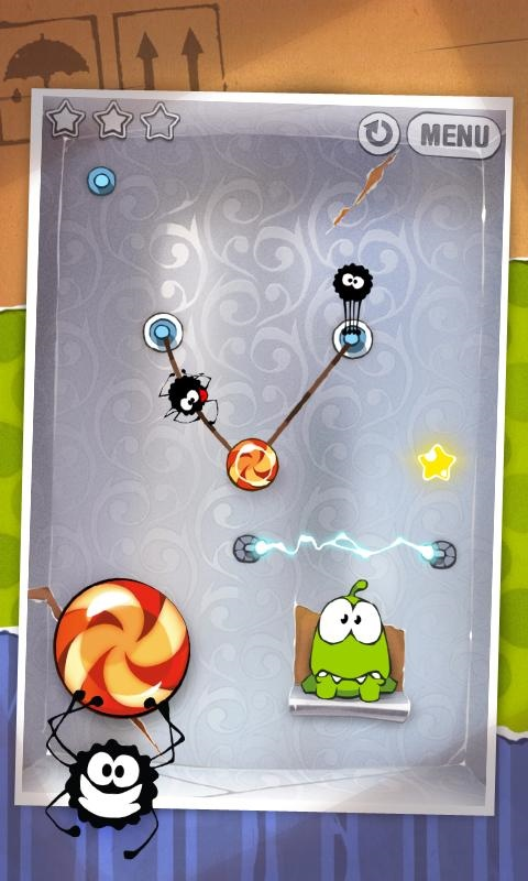 Cut the Rope HD (Android игры)