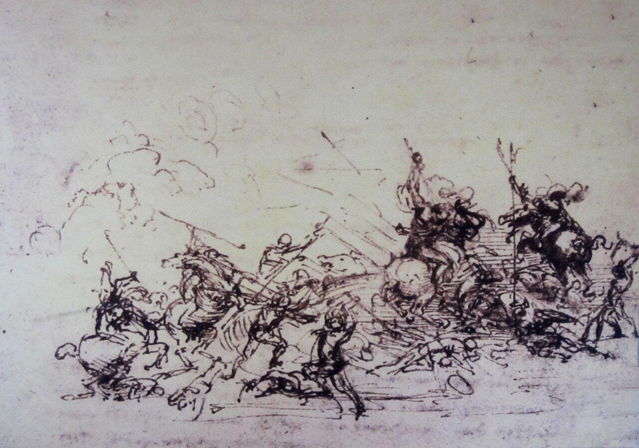 148_Битва при Ангиари, эскиз 2.jpg