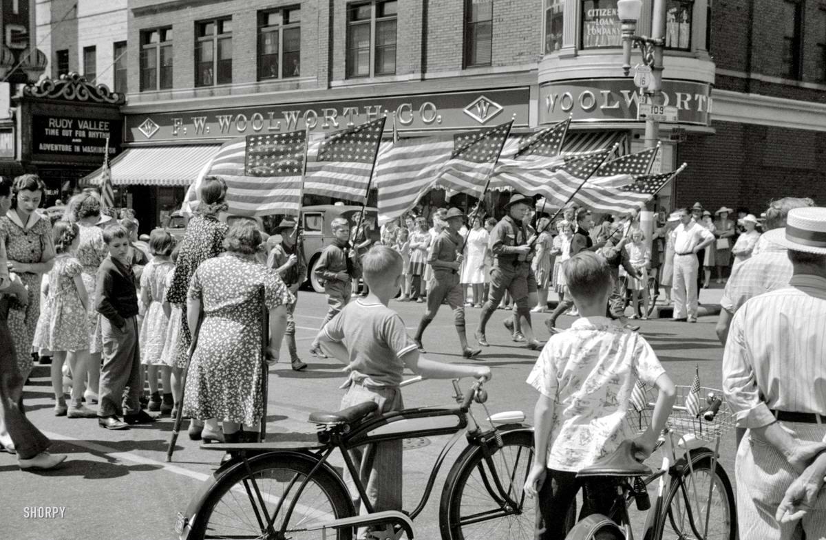 Американские бойскауты начала 20-го века на снимках фотографов (32)
