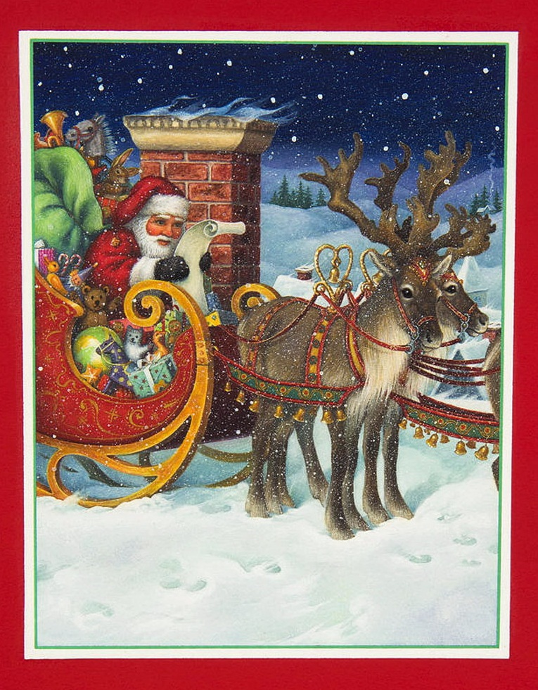 Список Рождества