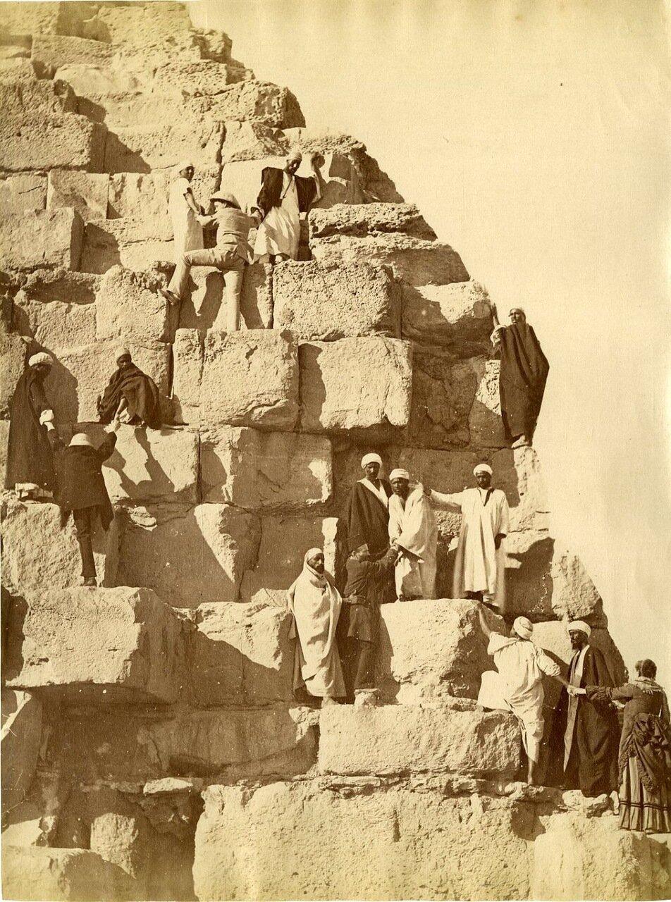 Гиза. Подъем на Великую пирамиду