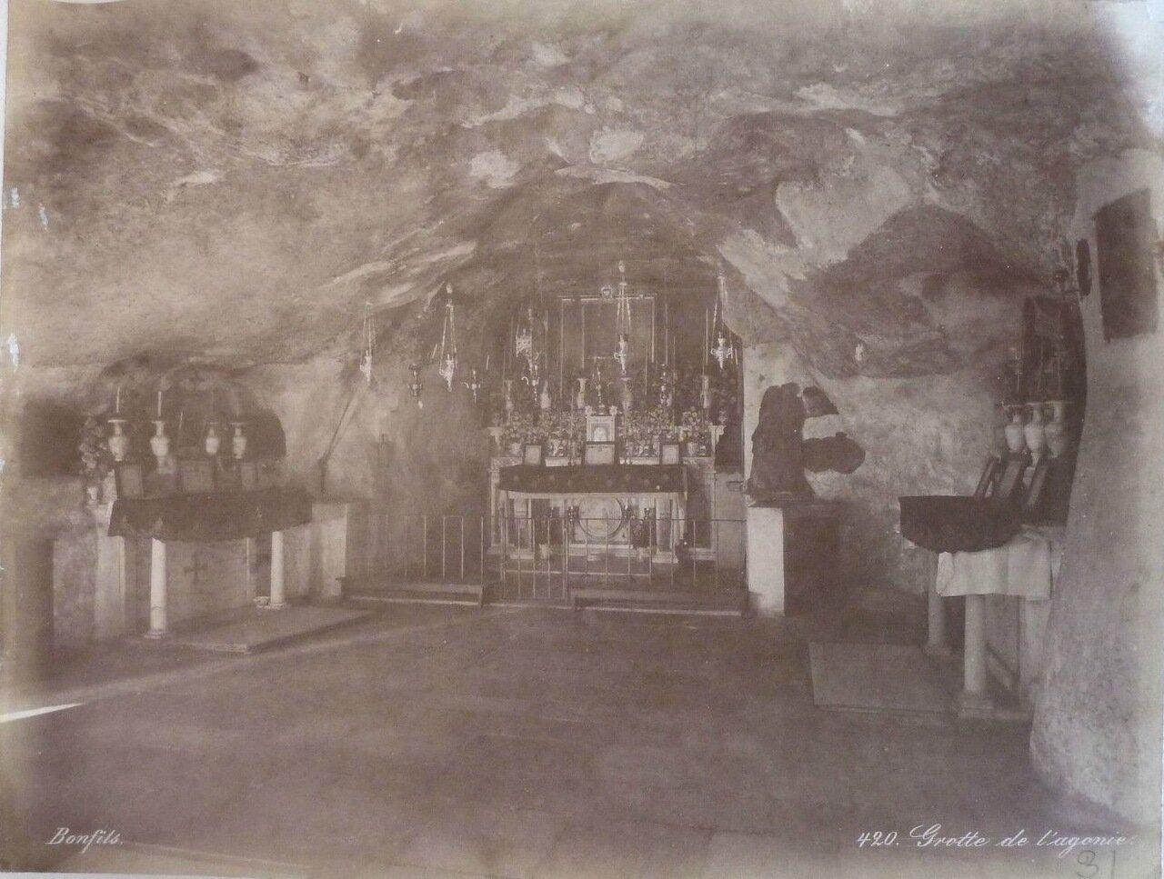 Иерусалим. Базилика агонии. 1882