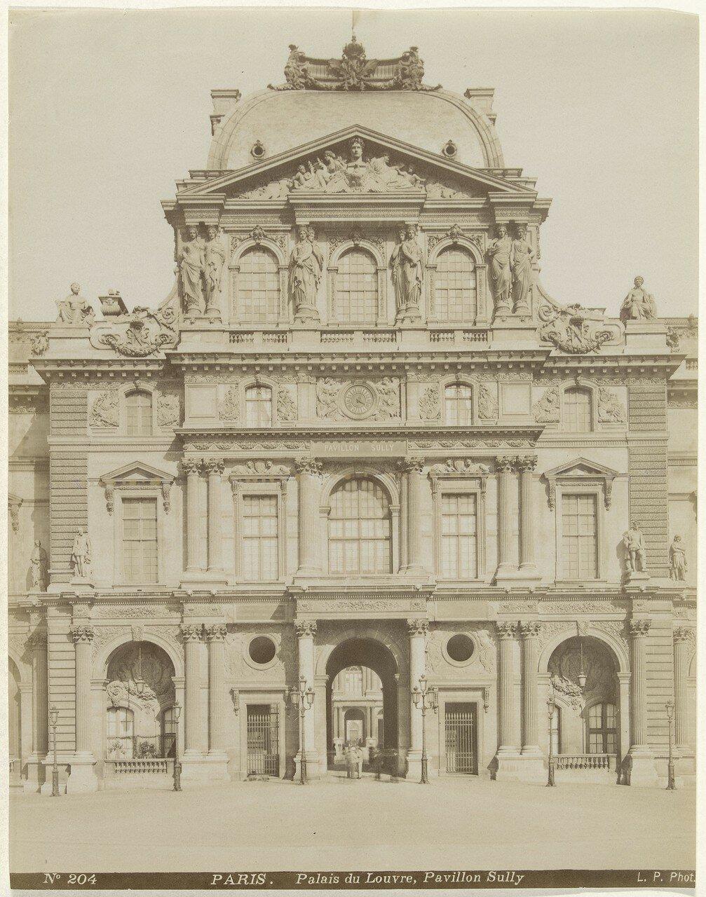 1860-е. Лувр. Павильон Часов