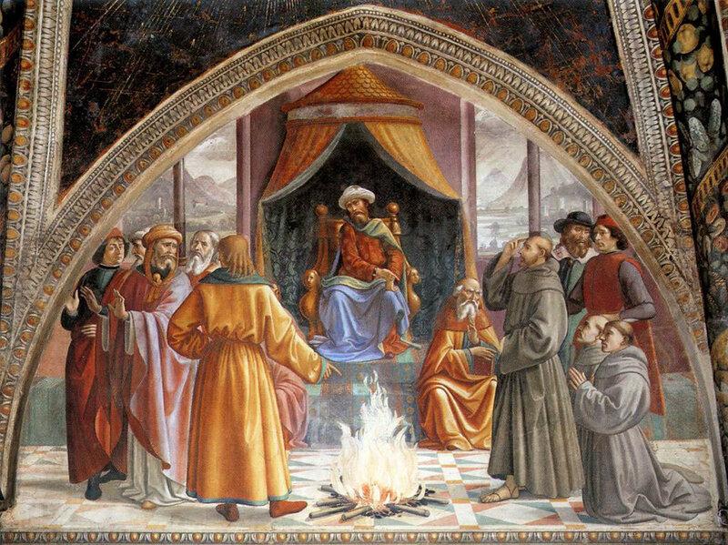 011-испытание огнем перед султаном (Гирландайо).jpg