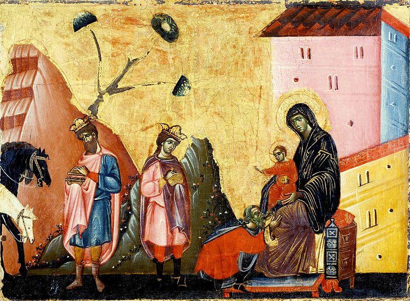 Guido da Siena Поклонение волхвов.jpg