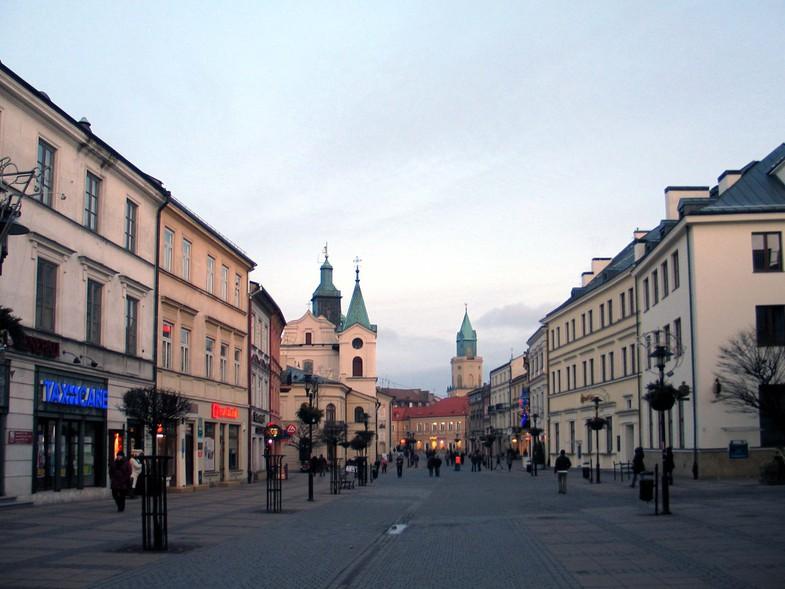 Быть в Люблине и не пройтись по Краковскому Предместью – всё равно b055b28fc82f5