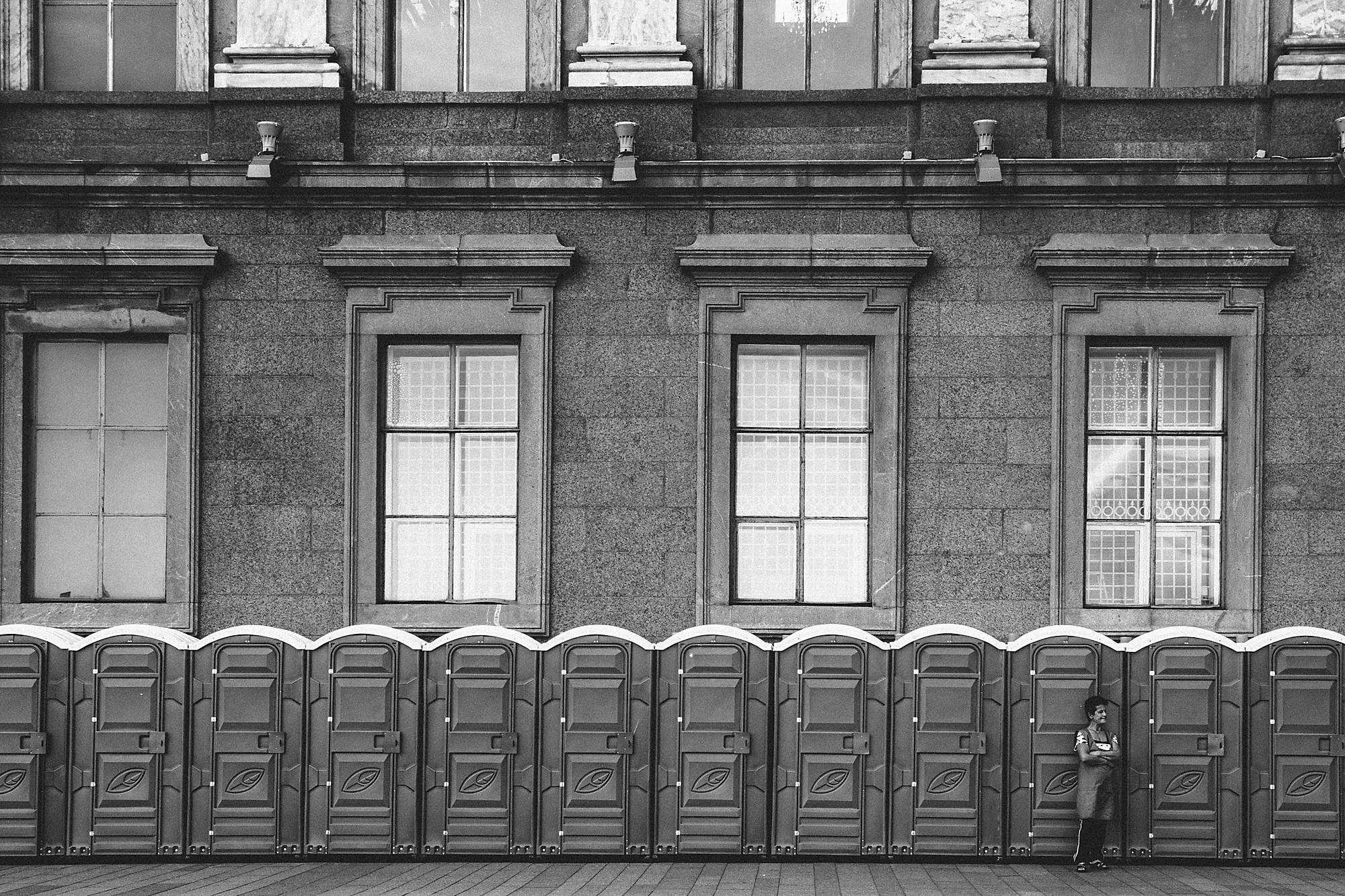 Хранительница туалетов