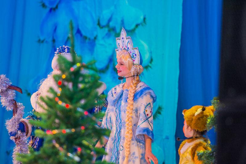 Новогоднее представление «Переполох в зимнем лесу»