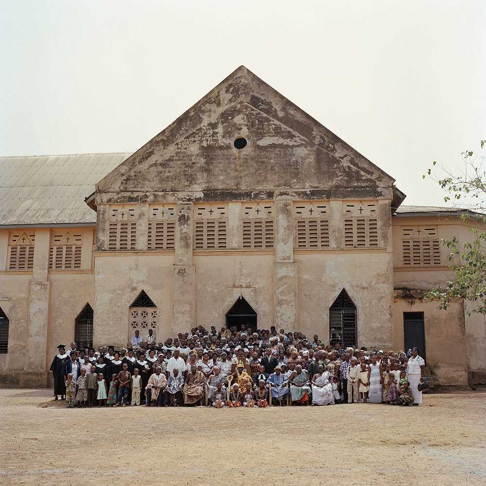 Тогбе Нгорифия Кифа Коси Банса - верховный правитель территории Хохо в Гане. 0_177614_204ad70a_orig