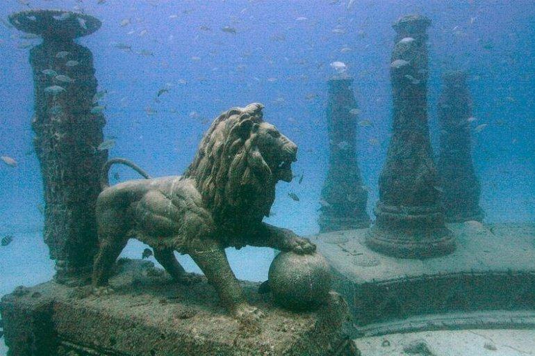 В Греции будут открыты подводные музеи