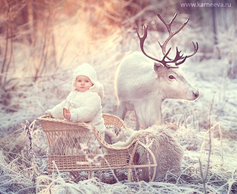 Зимняя сказка от детского фотографа 0 1362fe c76af01b orig