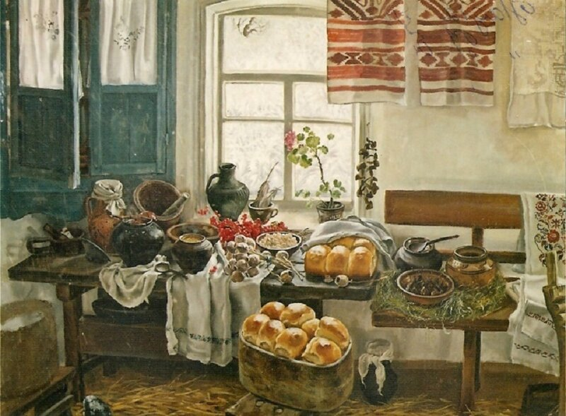 Надежда Полуян–Внукова (Украина) - У бабушки перед Рождеством