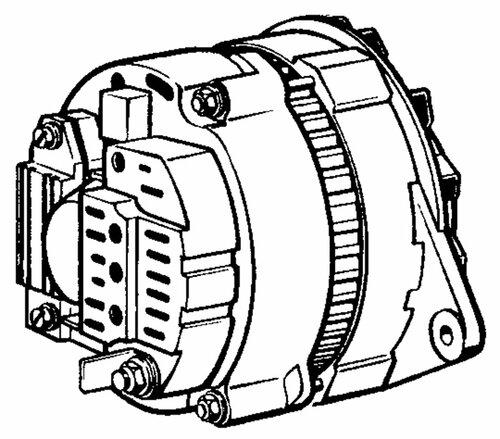 схема включение генератора в