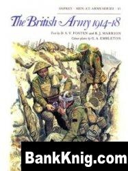 Книга The British Army 1914-18 [Osprey Men-at-Arms 081] pdf в rar:  20,9Мб