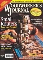 Книга Woodworker's Journal (December 2012) pdf 55,04Мб