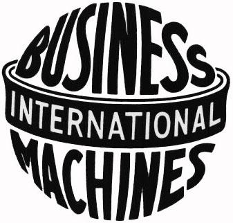 Первый логотип IBM (1924-1946)
