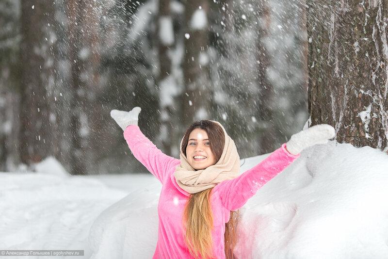 Зимняя фото прогулка