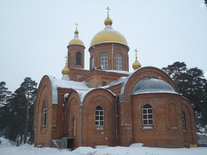 Бийск. Покровская церковь