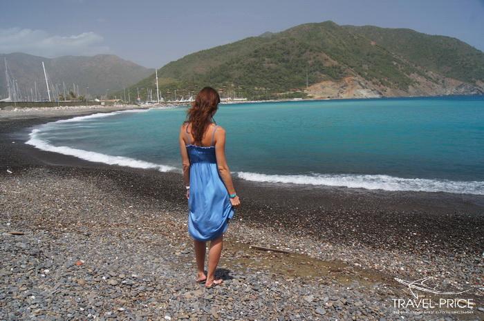 дикий пляж Мармарис