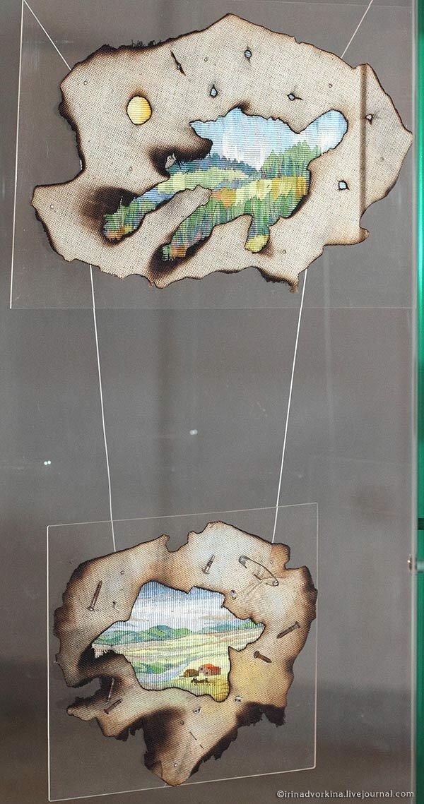 Марина Нечепорук. Вселенная; Обочина. 1990