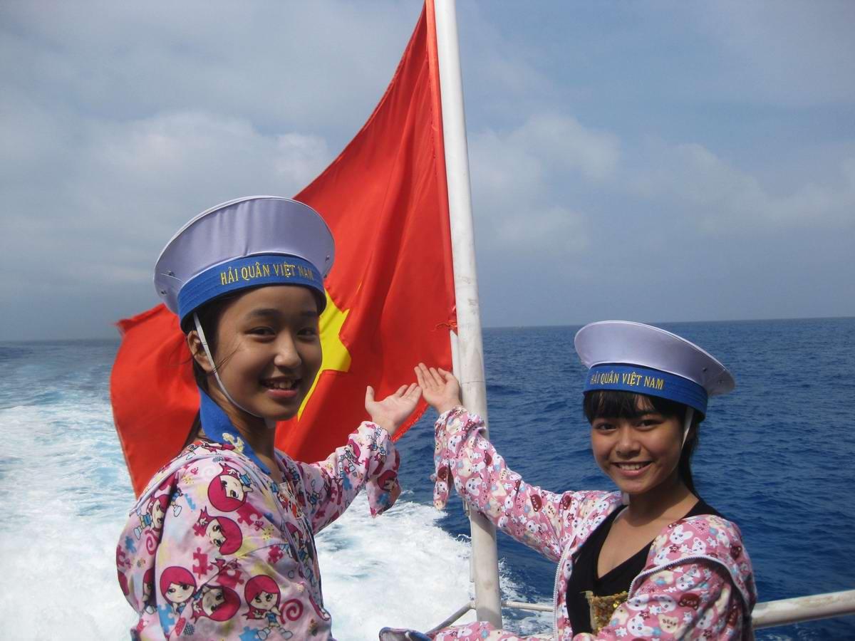 Прекрасные морячки: Юнги Вьетнамского флота