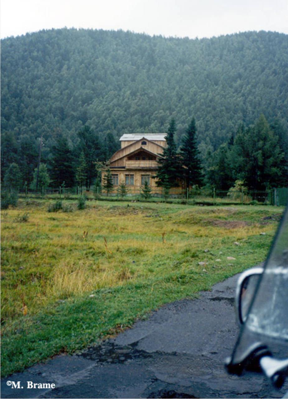 Деревянный дом недалеко от Хабаровска