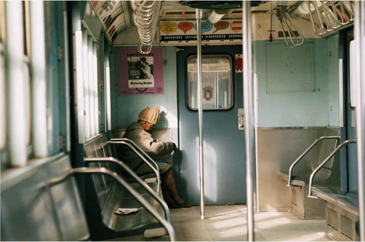 Южный Бронкс. Сабвэй. 1970.