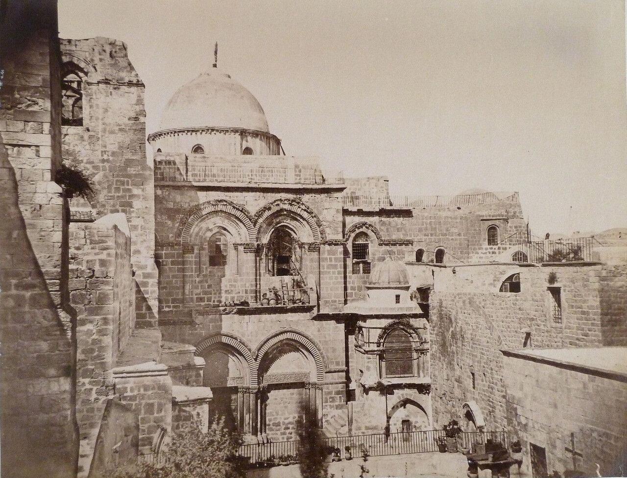 Иерусалим. Храм Гроба Господня. 1881.