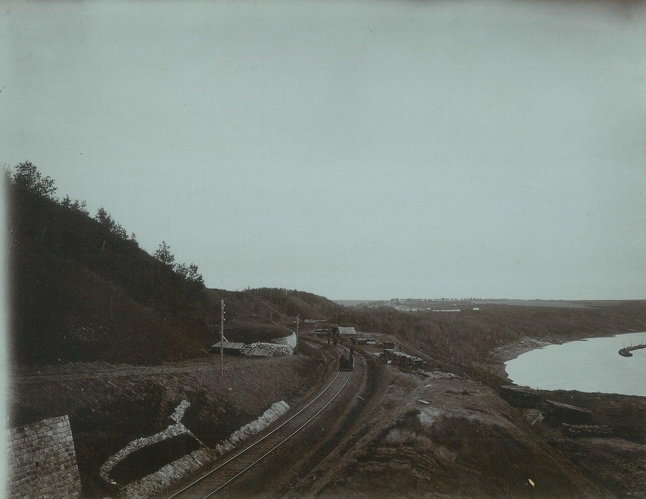 16. Вид законченных работ на 279-280-й версте со стороны Нижнего Новгорода