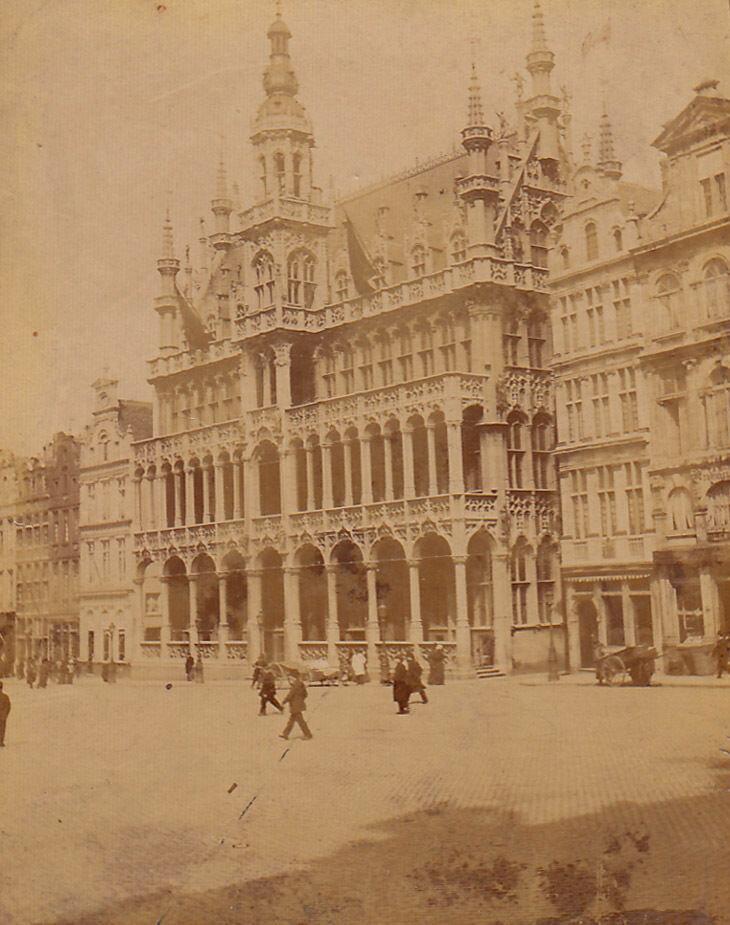 Площадь Гран-плас. 1880