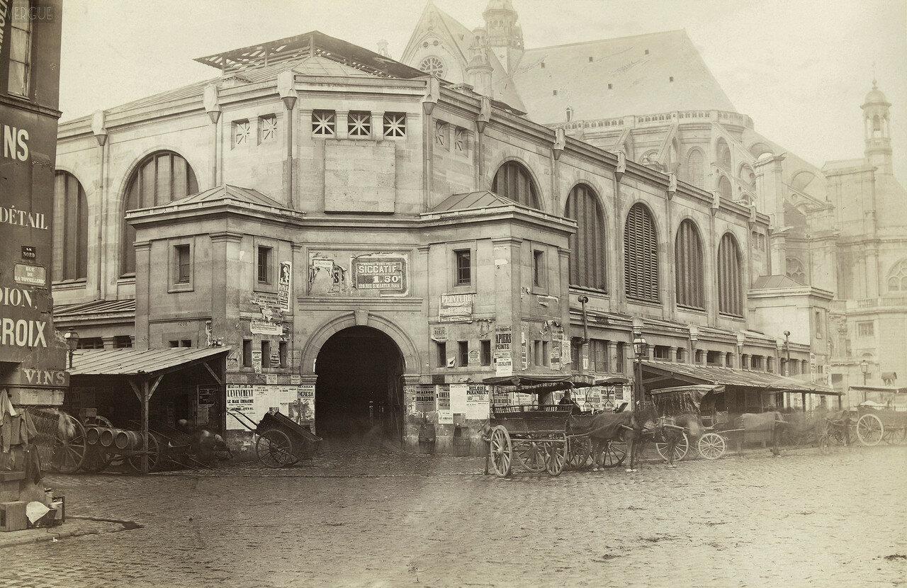 Павильон крытого рынка в Ле-Аль. 1866